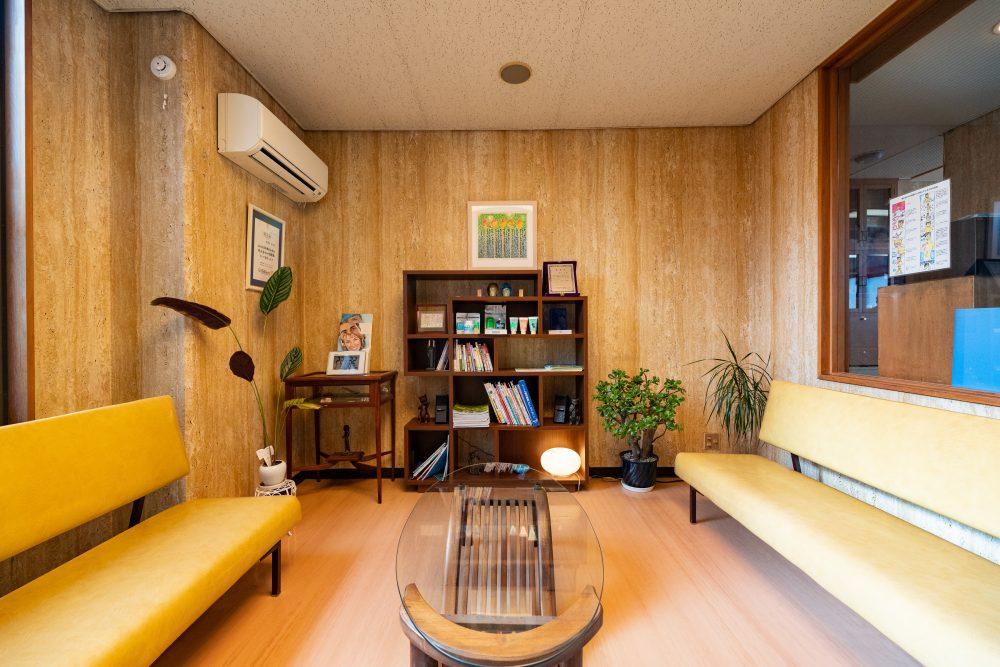 待合室|花巻市の徳富歯科医院